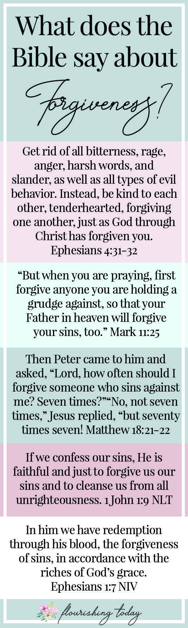 What Does The Bible Say About Forgiveness  Bible Love -2572