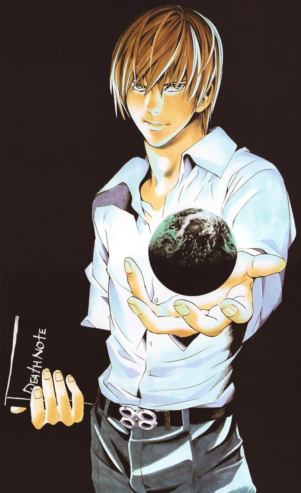 The Art of Takeshi Obata in 2020 Death note light, Death