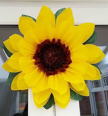 1x pompom 45cm sunflower tissue paper flower frozen fever wedding 1x pompom 45cm sunflower tissue paper flower frozen fever wedding decorations junglespirit Images