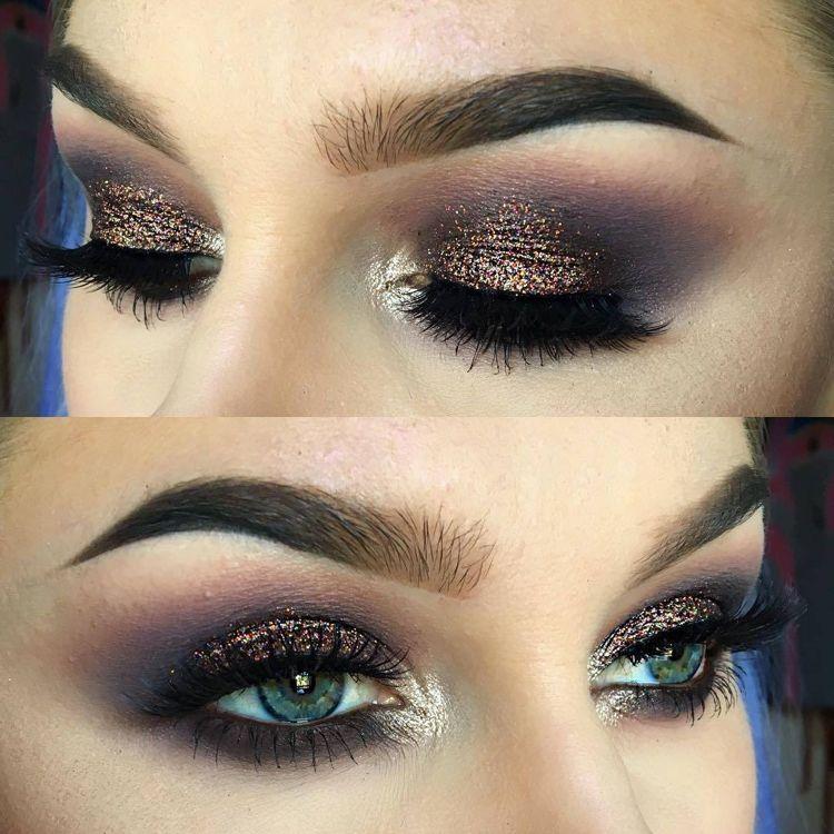 Augen Make Up Abend Make Up Trends Eyeliner Make Up Eyeliner Kleine Augen Kleine Augen