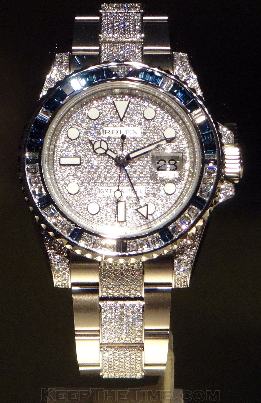 Rolex bling bling at baselworld timepieces pinterest rolex rolex watches and watches for Watches diamond