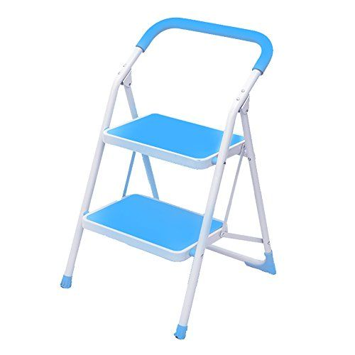 Magnificent Lxf Step Stool Home Multi Function Folding 2 Step Ladder Lamtechconsult Wood Chair Design Ideas Lamtechconsultcom