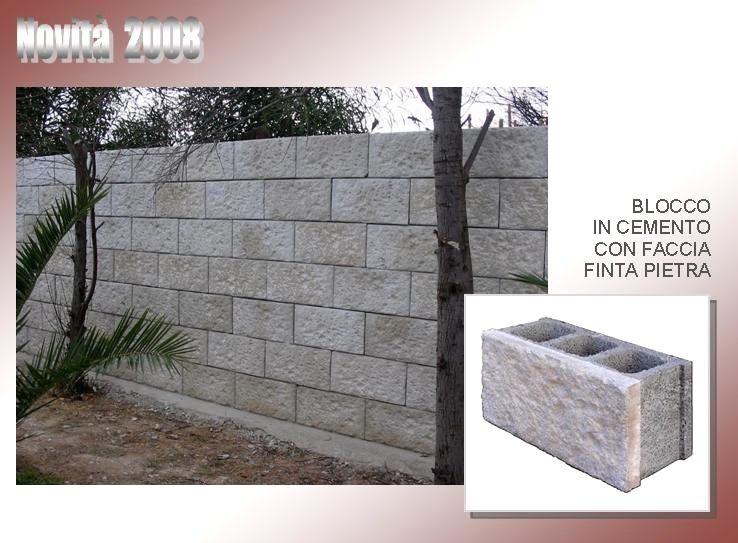Muro In Cemento Armato Prezzo.Muri Di Recinzione Prefabbricati Prezzi Con Muretti Di