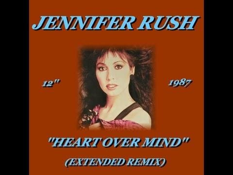Jennifer Rush Heart Over Mind Extended Remix 1987 Music In 2019 Bmg Music Music 6 Music
