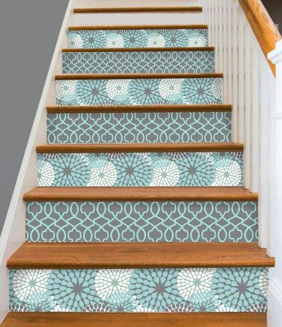 Decorative Stair Riser Is Hot In Latest Home Decorating Scene, We Have Make  It