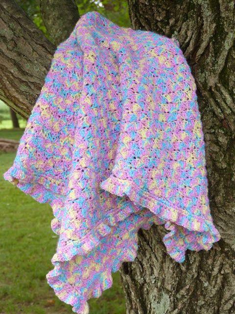 Zaylee Baby Blanket | Free Crochet Pattern - Ginger Peachy | 5 easy ...