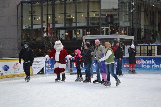 Santa Skates Cincinnati, Ohio  #Kids #Events