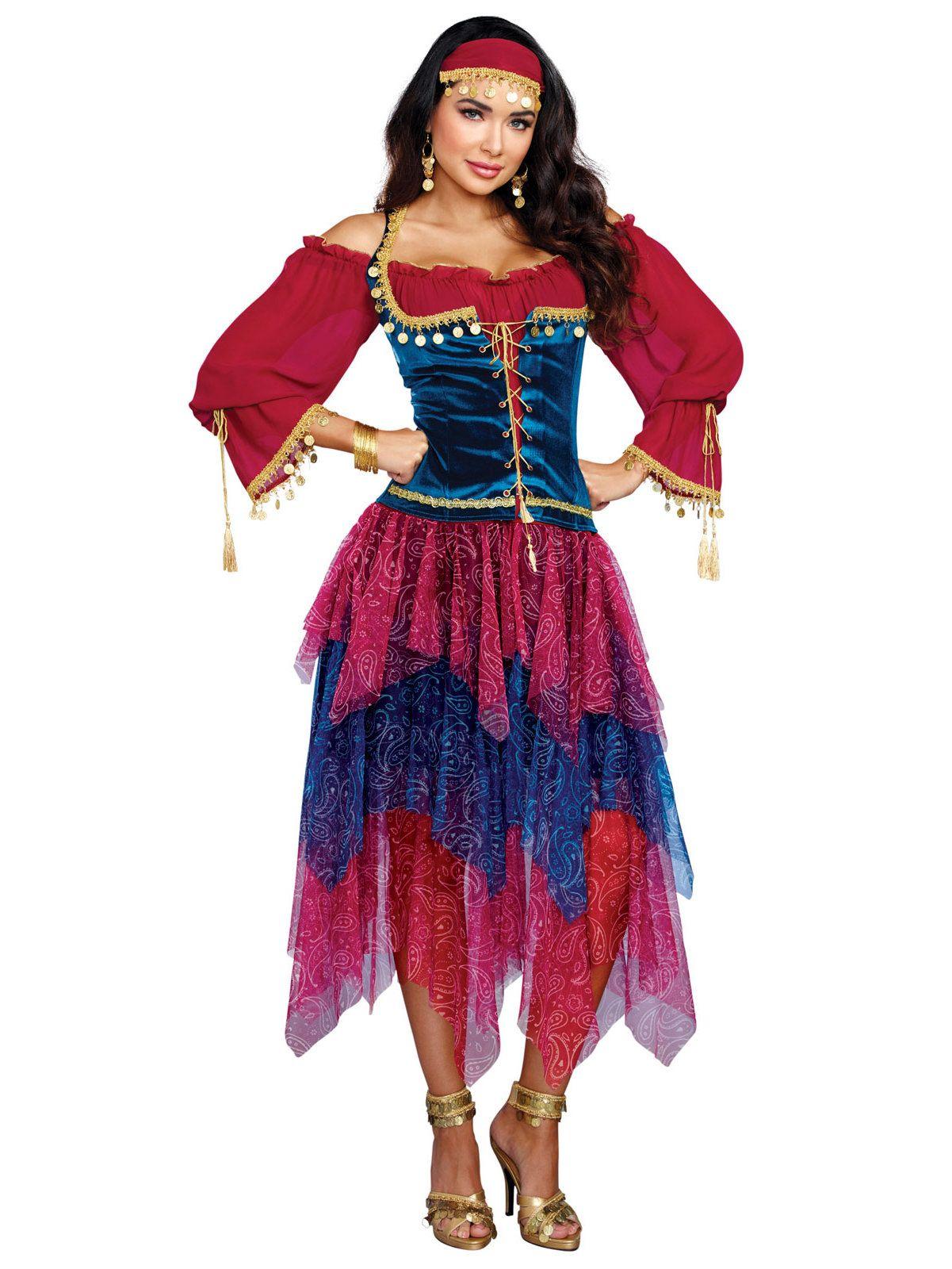 Gypsy Womenu0027s Adult Costume  sc 1 st  Pinterest & Gypsy Womenu0027s Adult Costume | Wholesale halloween costumes ...