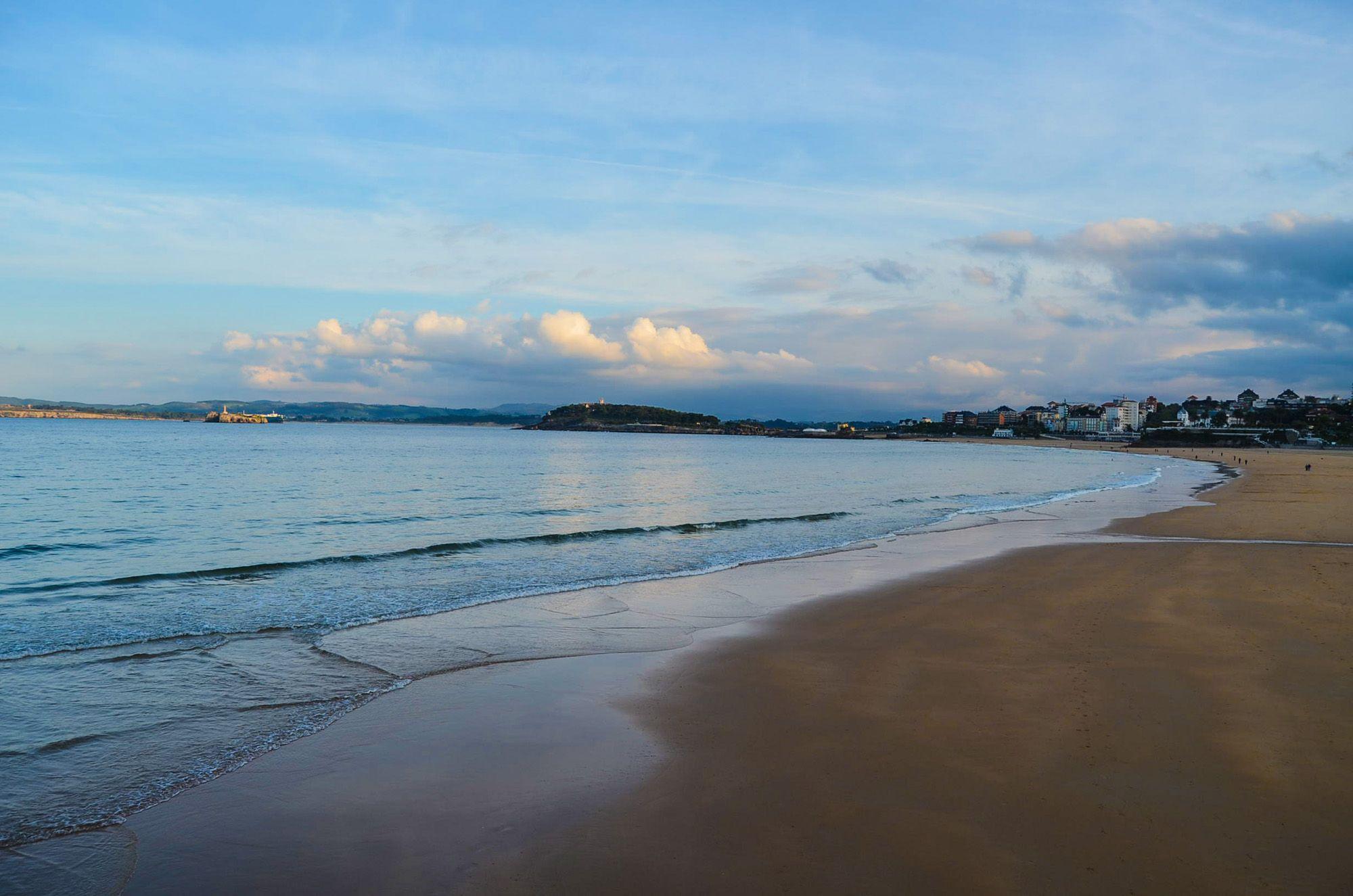 Playa del Sardinero, Santander, Cantabria