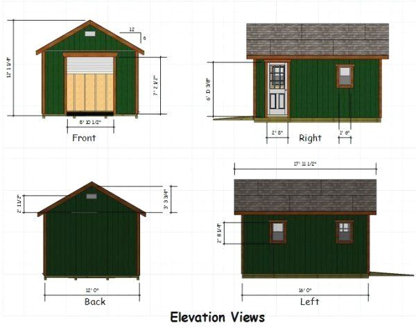 10x20 Shed Plans With Porch And Pics Of 8 X 12 Lean To Shed Plans