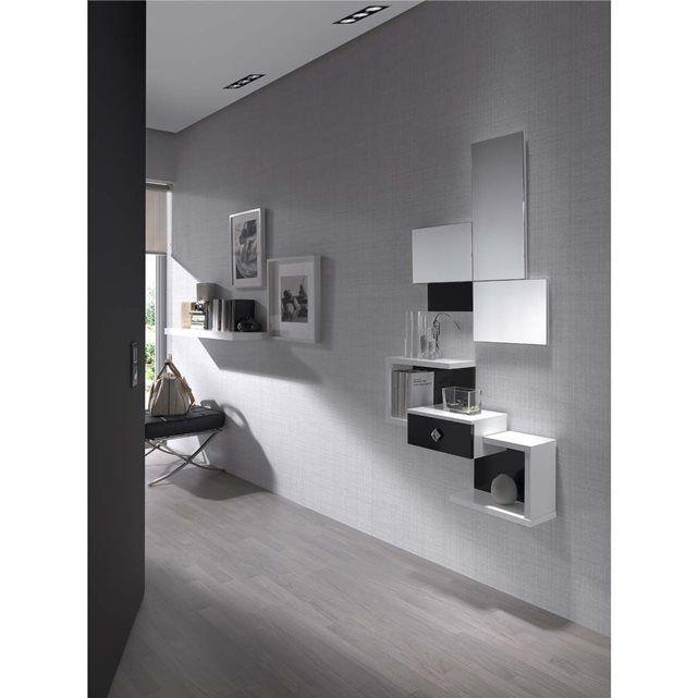 Meuble D\u0027entrée Design Elio + Miroir Offert Atylia ATYLIA  prix