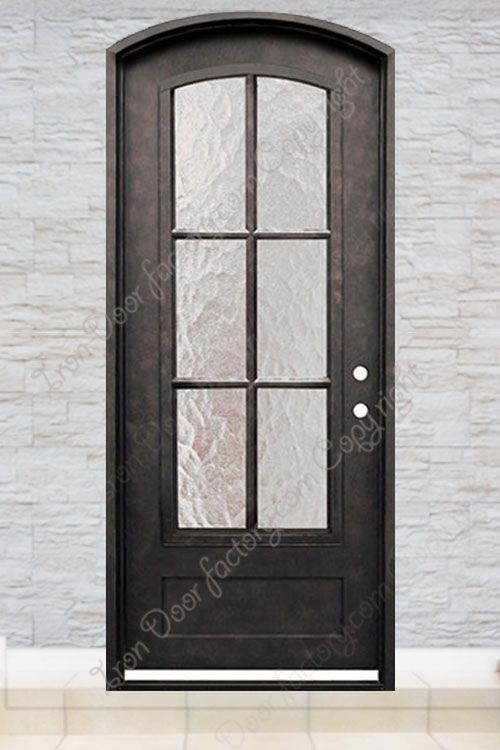 Exterior Iron Doors Single S1045 Single Entry Doors Iron Doors Doors
