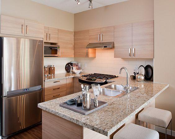 Cocinas pequeñas modernas 2018 Cocinas modernas espacios pequeños