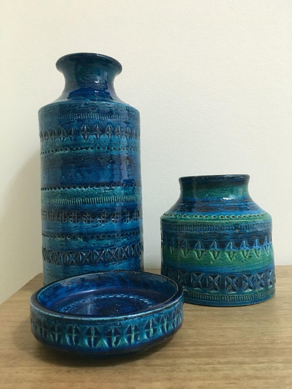 Vintage Bitossi Ceramics Mid Century Pottery Ceramics Italian Ceramics