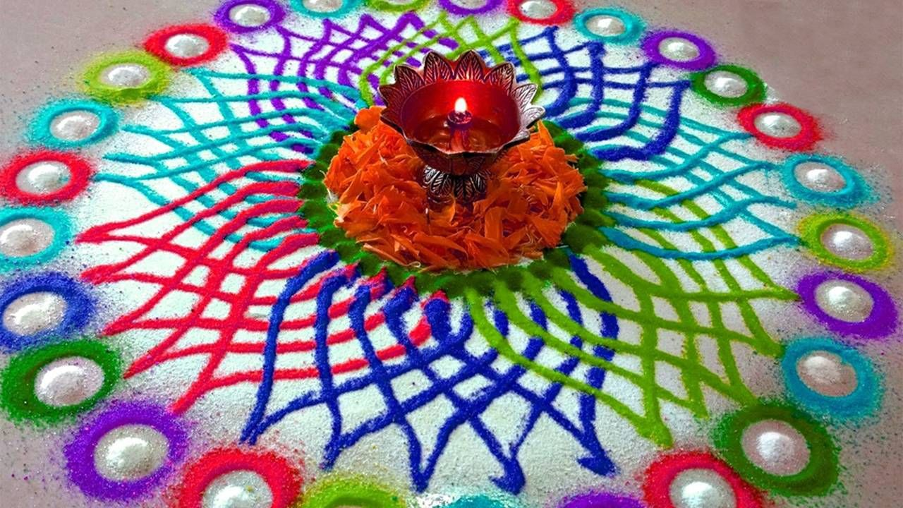 Happy Diwali Rangoli Designs With Hd Images Beautiful Kolam