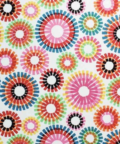 Colorful curtains - Alexander Henry Fiesta Firecracker