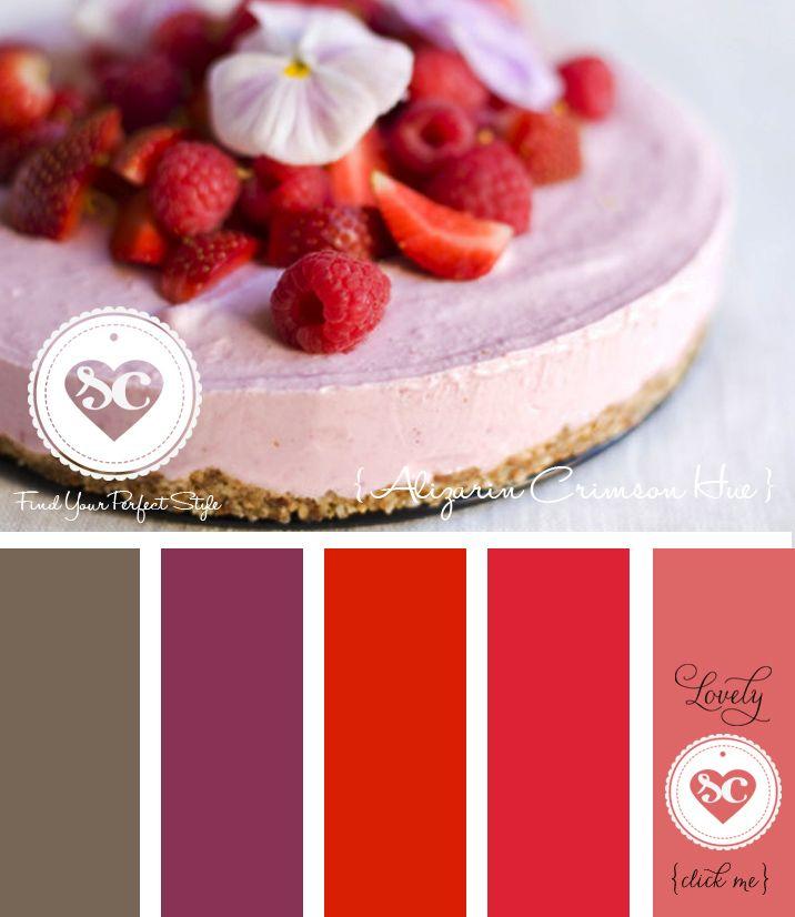 216Alizarin Crimson Hue/ Designer Asmalina © 2013 Sorbetcolour