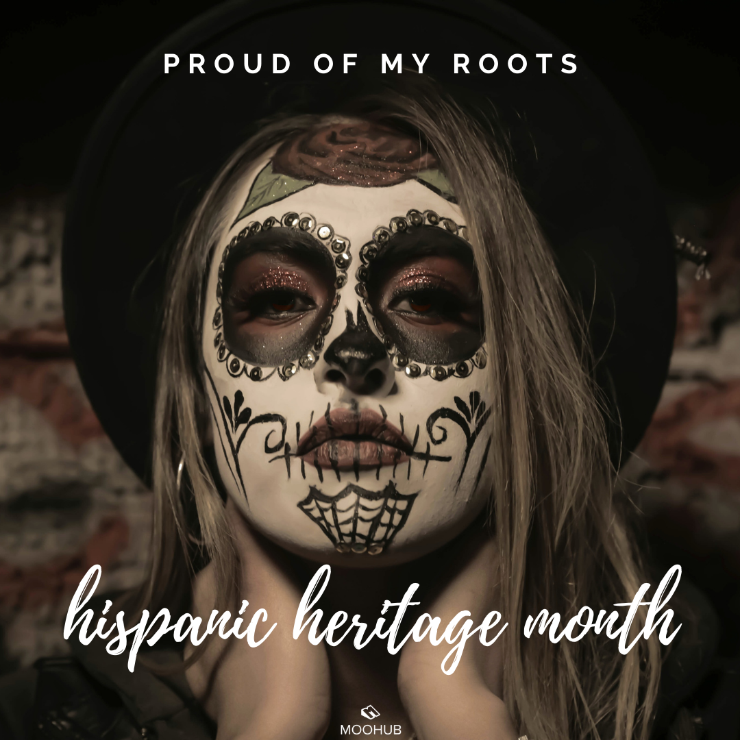 Latin Roots Halloween Party 2020 Happy Hispanic Heritage Month! in 2020 | Halloween makeup, Face