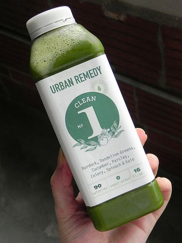 urban remedy juice bottle design by chefambershea, via Flickr - new blueprint cleanse video