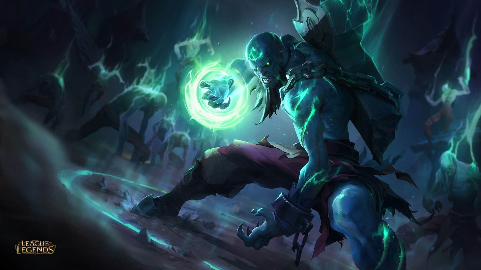 Download Wallpaper Zombie Ryze Skin Full HD On GameWalls
