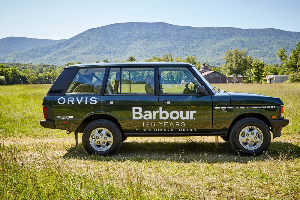 Barbour And Orvis Team Up For The Vintage Range Rover Of Your Dreams Range Rover Range Rover Classic Orvis