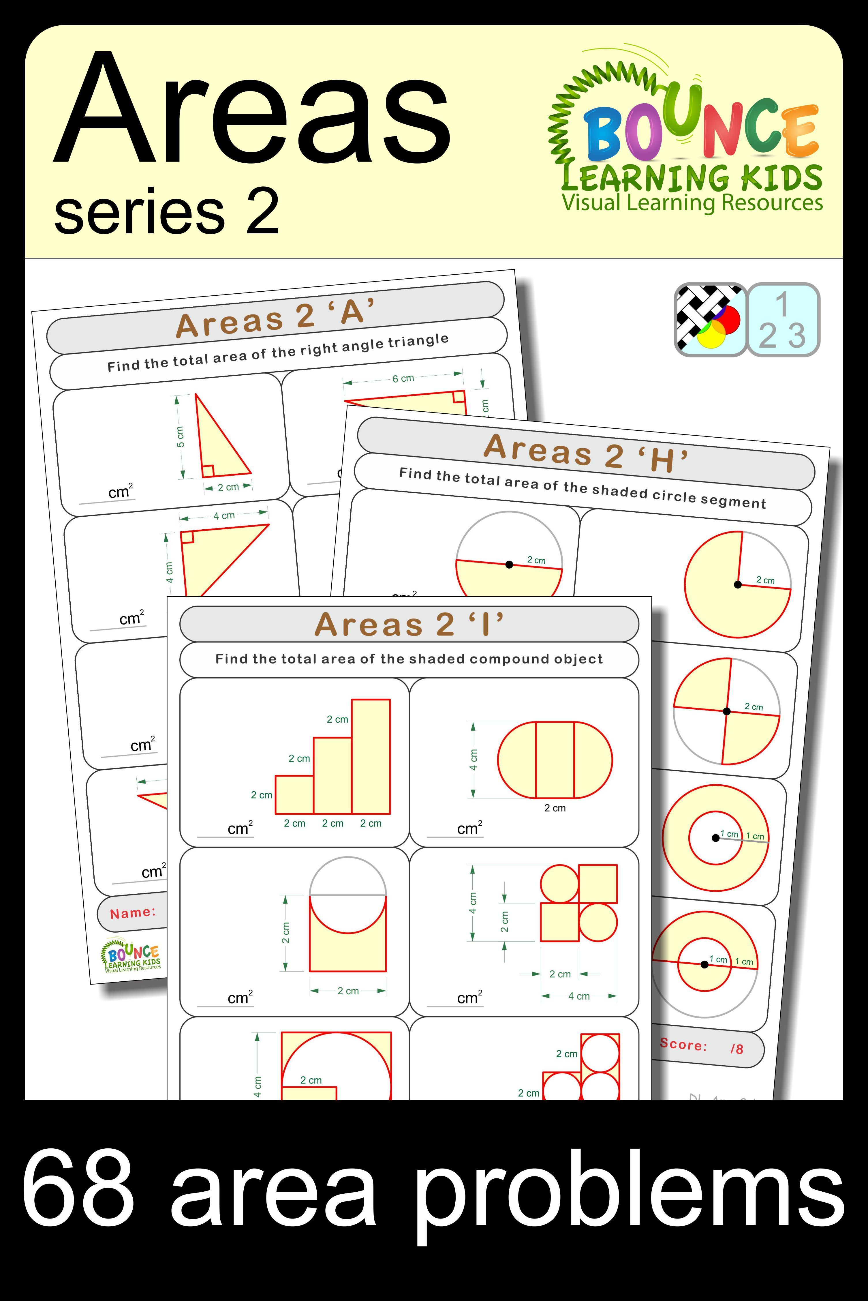 Area 1 8 Distance Learning Worksheets For Numeracy
