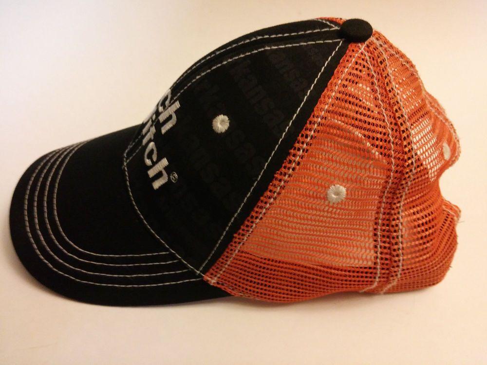 Ditch Witch Cap Trucker Baseball Hat One Size - Black Orange  DesignDynamix   BaseballCap ffbcb14a21c