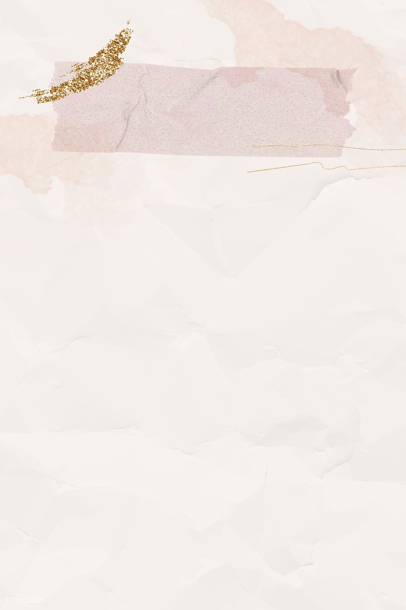Download premium vector of Blank crumpled pink paper with washi tape template vector by Ning about Background note, crumpled paper textured, feminine background, water paint invitation, and watercolor paper note design 1205035