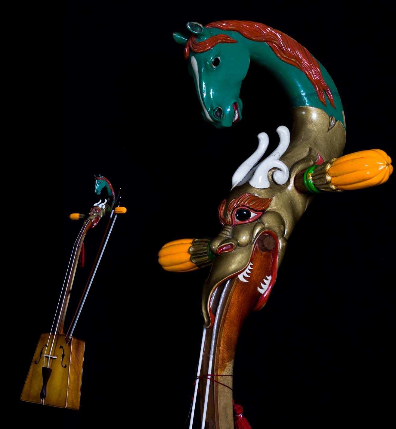 The Morin-khuur Is A Traditional Mongolian Musical