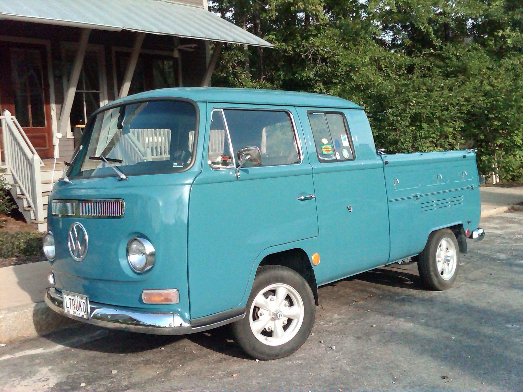 Old Volkswagen Pickup Truck Type 2 Pickups And Panel Van Red Motor World German Vans Nick Palermo