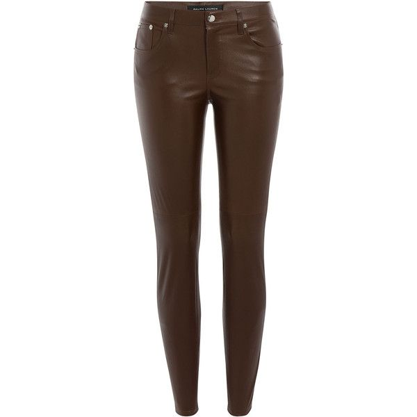 new season lace up in best price Ralph Lauren Black Label Skinny Leather Pants ($2,295 ...