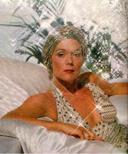 Diana Rigg As The Glamorous Arlena Marshall In Evil Under The Sun