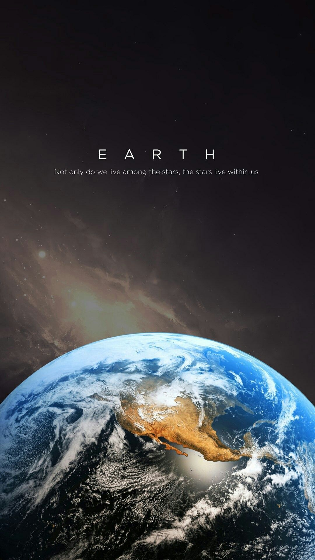 Not Only Do We Live In The Stars But The Stars Live Among Us In 2020 Wallpaper Earth Planets Wallpaper Nasa Wallpaper