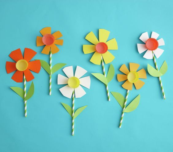 Simple Paper Flower Craft