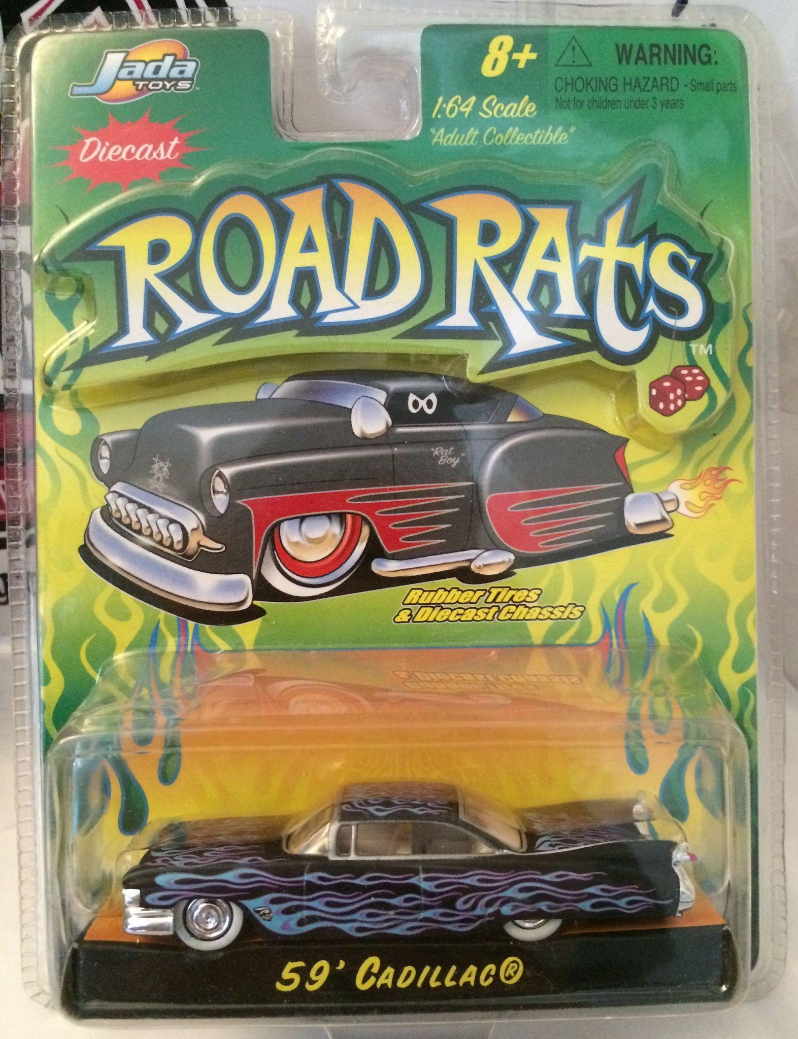 Jada car toys  TAS   Jada Toys Road Rats Die Cast  Scale