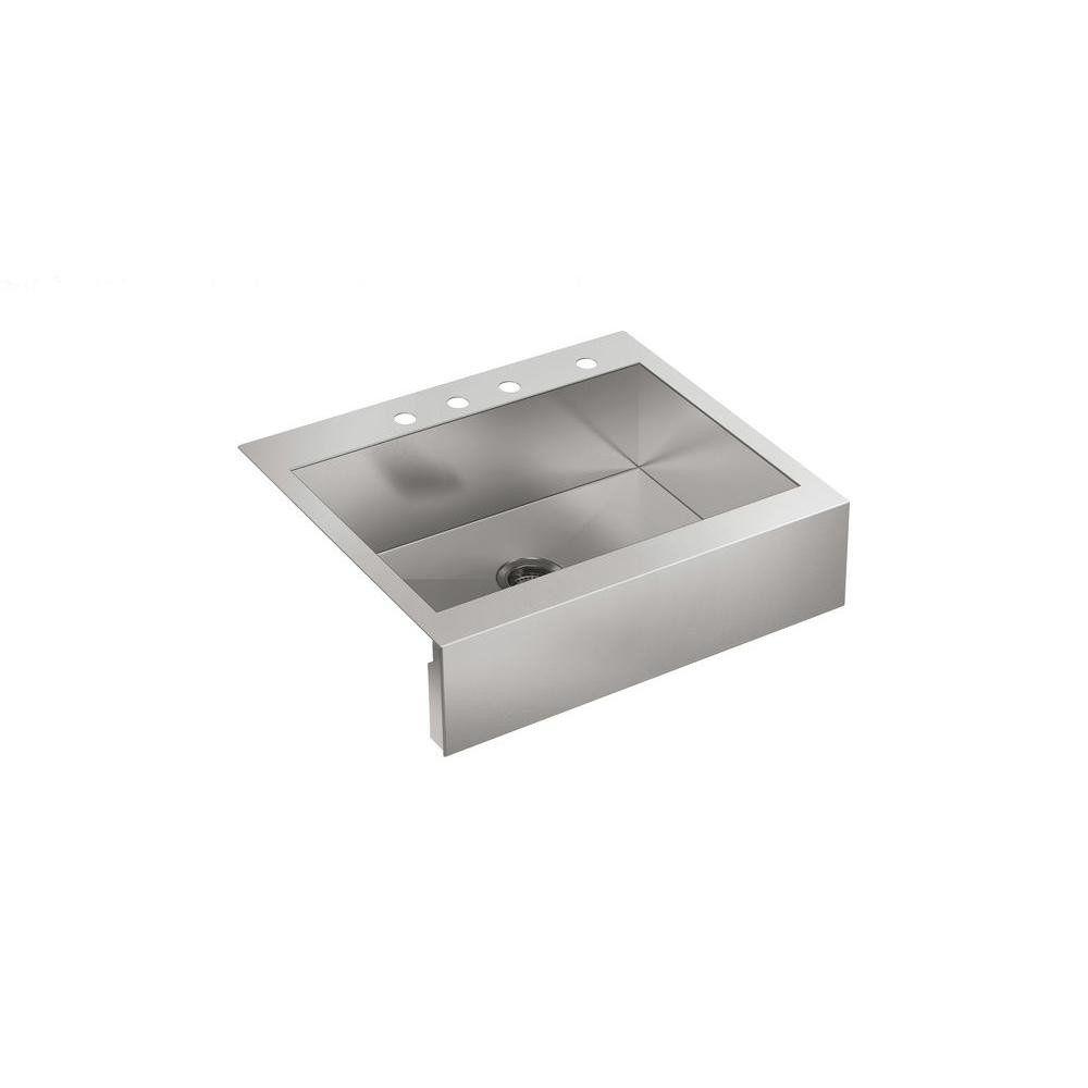 Kohler Vault K 3935 4 Na 30 Stainless Farmhouse Sink Single