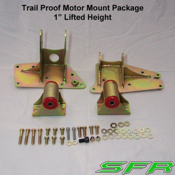Stinky Fab Racing Sfr Xj 1 Lift Trail Proof Engine Mounts