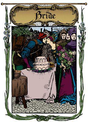 Medieval Wedding - Part 1 - The Medieval Bride | Medieval Fantasy