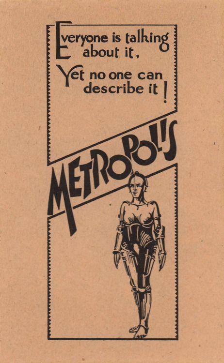 Vintage Film Movie Metropolis 1927 Sci Fi Future 12X16 Inch Framed Art Print