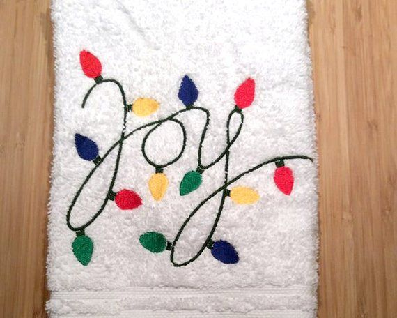 Holiday lights joy applique embroidery design in 2019 products