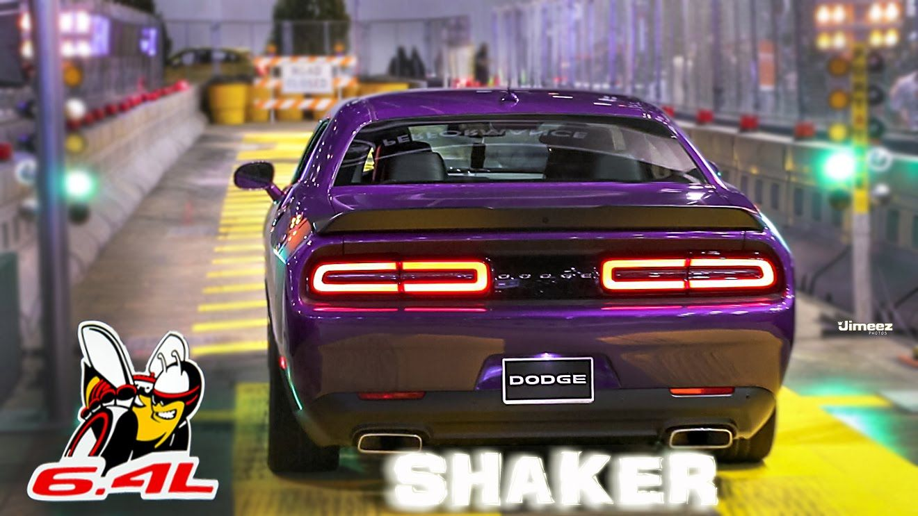 Holeshot Hemis 6 4l 485hp Charger Challenger Scatpacks 16 Chicago Auto Show Chicago Auto Show Performance Engines Chicago