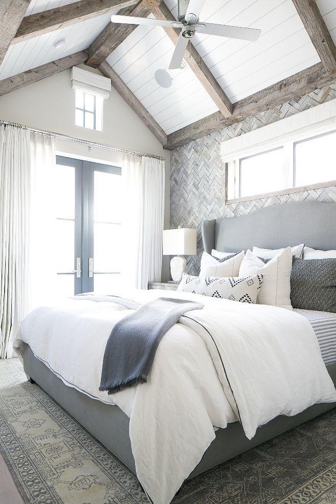 Corona Del Mar California Beach House Master Bedroom Master