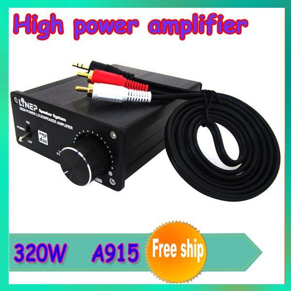 Купить товар1 шт. 320 Вт A915 цифровой с высокой мощностью усилитель с аудио усилитель цифровой электропитание усилитель в категории Усилителина AliExpress.         320 Вт цифровой усилитель высокой мощности с аудио усилитель              Технические характеристики