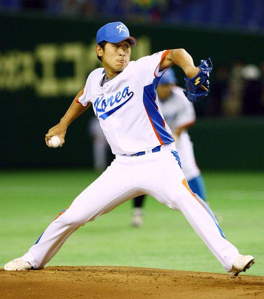 Yoon Suk Min Photos Photos China V South Korea World Baseball Classic Tokyo Day 4 World Baseball Classic Baseball Korea