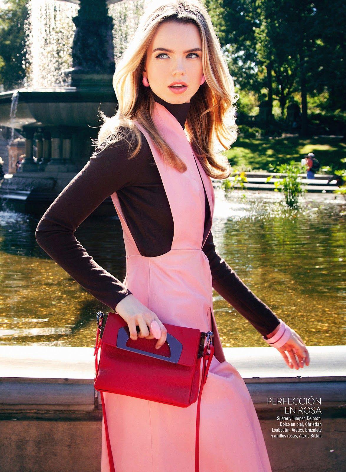 Aurelia Gliwski wearing DELPOZOFW14 Collection for Glamour Mexico ...
