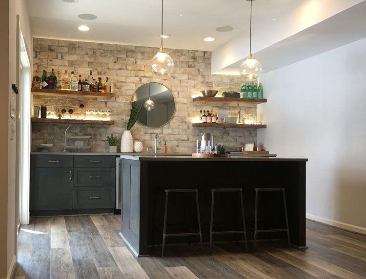 Vinyl Flooring Bar Design