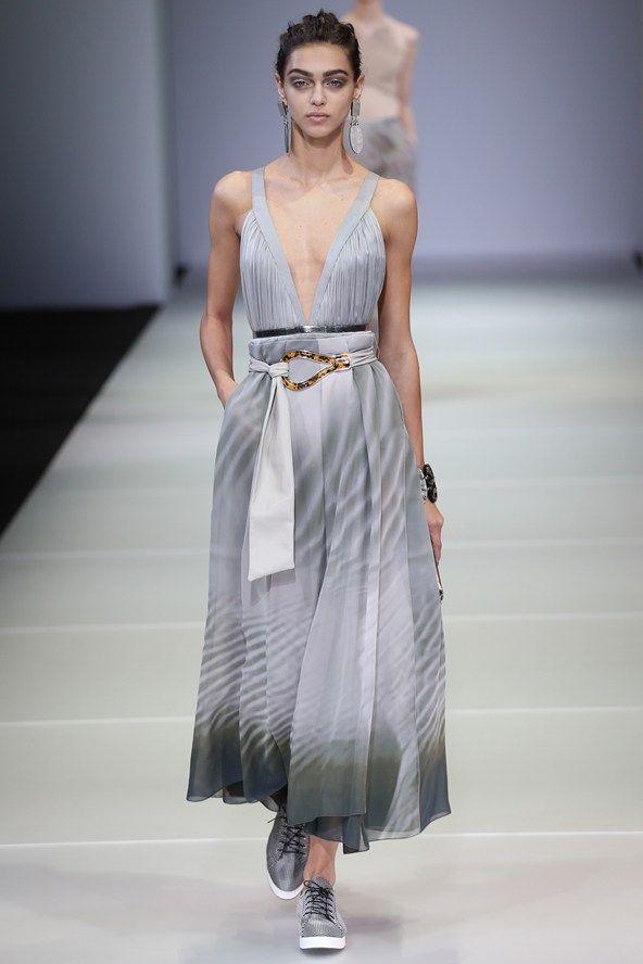 Giorgio Armani womenswear, spring/summer 2015, Milan Fashion Week
