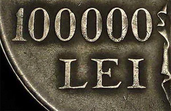 Romanian Silver Coin 100000 Lei Money Pinterest Silver Coins