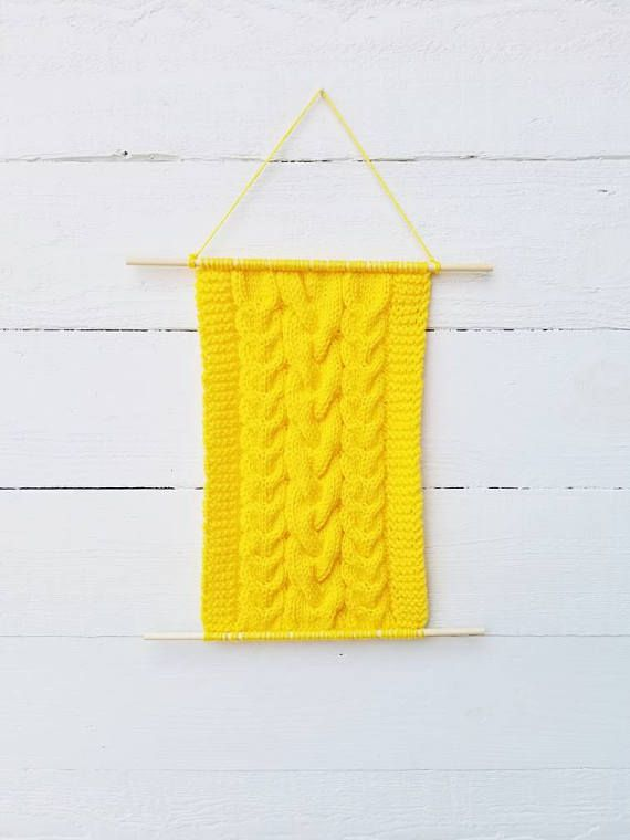 Enchanting Knitted Wall Decorations Vignette - All About Wallart ...