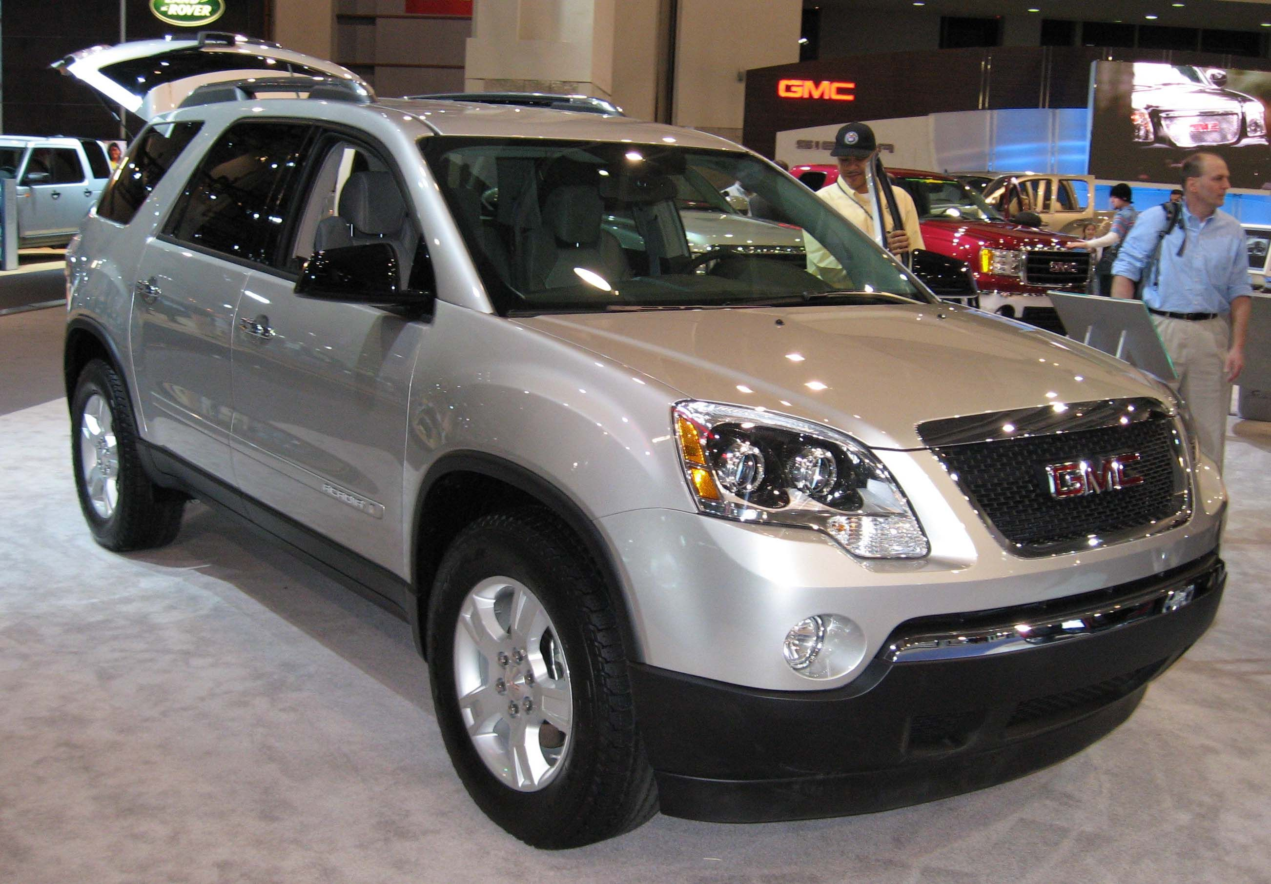The Gmc Acadia Is A Cool Family Vehicle Why Didn T I Think Of